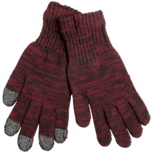 ExOfficio Cafenisto Tablet Gloves (For Women) in Hydrant/Coffee - Closeouts
