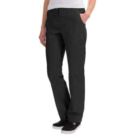 ExOfficio Caletta Drawstring Pants (For Women) in Black - Closeouts