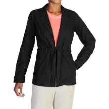 ExOfficio Caletta Jacket (For Women) in Black - Closeouts
