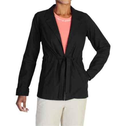 ExOfficio Caletta Jacket (For Women) in Black - Closeouts