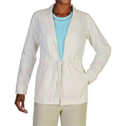 ExOfficio Caletta Jacket (For Women) in Linen - Closeouts