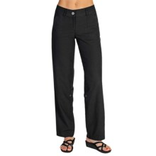 ExOfficio Caletta Pants - Linen Blend (For Women) in Black - Closeouts