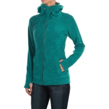 ExOfficio Calluna Fleece Jacket (For Women) in Aquatic - Closeouts