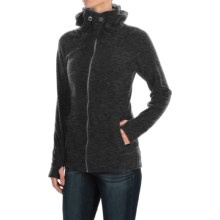 ExOfficio Calluna Fleece Jacket (For Women) in Black - Closeouts