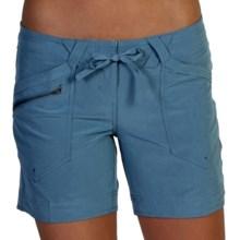 ExOfficio Camina Shorts - UPF 50+ (For Women) in Dusk - Closeouts