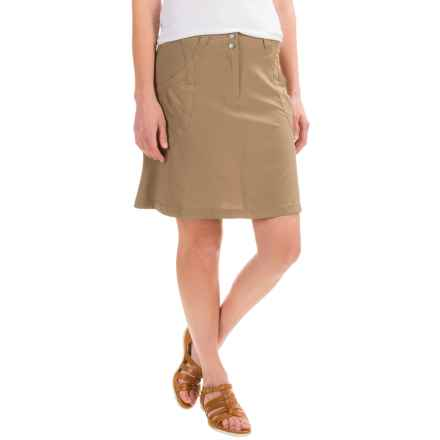 ExOfficio Camina Skirt - UPF 50 (For Women) in Walnut - Closeouts
