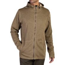 ExOfficio Caminetto Hoodie - Zip Front (For Men) in Walnut - Closeouts