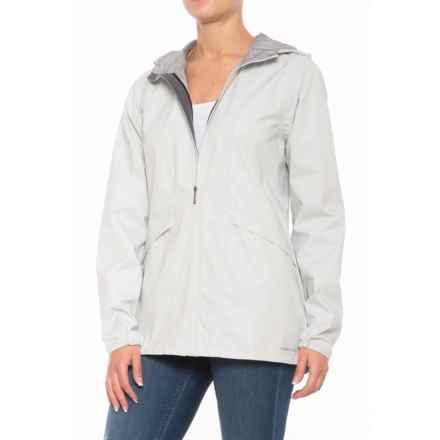 ExOfficio Caparra Jacket - Waterproof (For Women) in Platinum - Closeouts