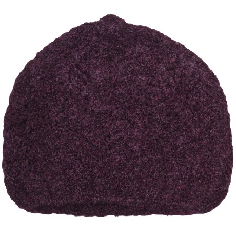ExOfficio Chaleur Boucle Beanie Hat (For Women) in Dark Thistle
