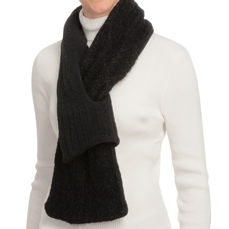 ExOfficio Chaleur Boucle Scarf (For Women) in Black