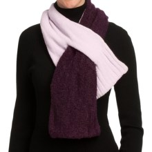 ExOfficio Chaleur Boucle Scarf (For Women) in Dark Thistle - Closeouts