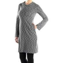 ExOfficio Chica Cool Hoodie Dress - UPF 30+, Long Sleeve (For Women) in Dark Pebble - Closeouts