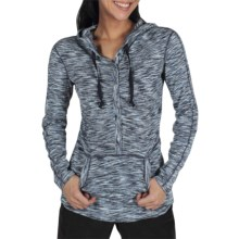 ExOfficio Chica Cool Snap Hoodie Sweatshirt - UPF 20+, Dri-Release®, FreshGuard® (For Women) in Ensign - Closeouts