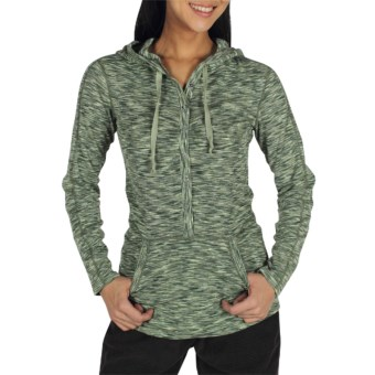 ExOfficio Chica Cool Snap Hoodie Sweatshirt - UPF 20+, Dri-Release®, FreshGuard® (For Women) in Rosemary