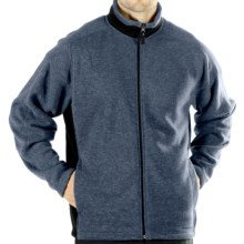 ExOfficio Chugo Fleece Cardigan Sweatshirt - Zip (For Men) in Steel - Closeouts