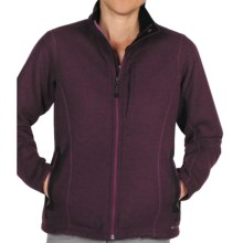 ExOfficio Consolo Fleece Jacket - Full Zip (For Women) in Plum - Closeouts
