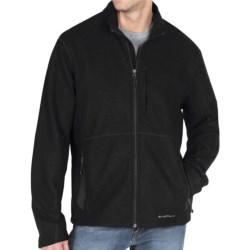 ExOfficio Consolo Jacket - Fleece-Wool, Full Zip (For Men) in Black