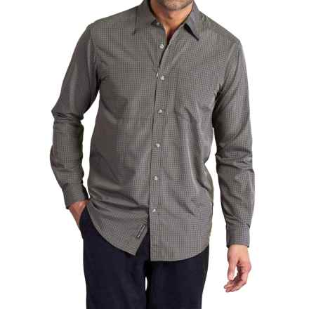 ExOfficio Corsico Check Shirt - UPF 30, Long Sleeve (For Men) in Sagebrush - Closeouts