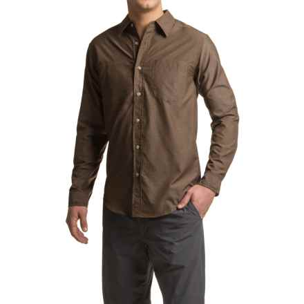 ExOfficio Corsico Shirt - UPF 30, Long Sleeve (For Men) in Cinder - Closeouts