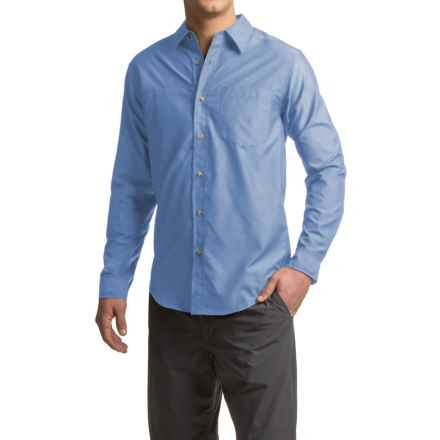 ExOfficio Corsico Shirt - UPF 30, Long Sleeve (For Men) in Light Lapis - Closeouts