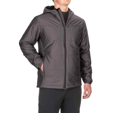 ExOfficio Cosimo Hooded Jacket - Insulated (For Men) in Black - Closeouts