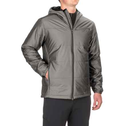 ExOfficio Cosimo Hooded Jacket - Insulated (For Men) in Carbon - Closeouts