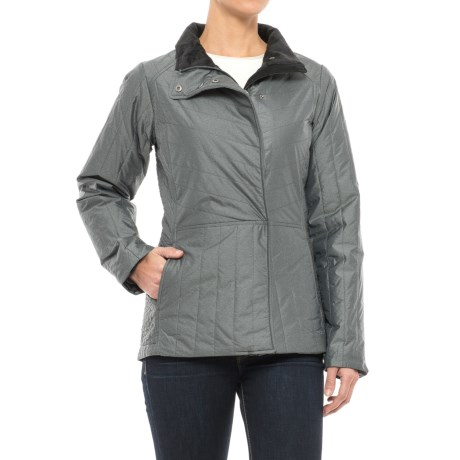 ExOfficio Cosmia Jacket - Insulated (For Women) in Carbon