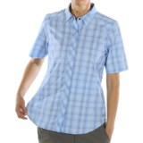 ExOfficio Dryfly Flex Midi Plaid Shirt - Short Sleeve (For Women)