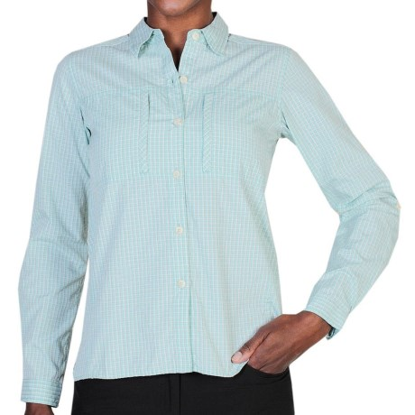 photo: ExOfficio Dryflylite Check Long-Sleeve Shirt