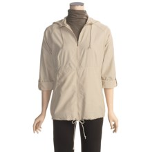 ExOfficio Dryflylite Cover Jacket - UPF 30+, Lightweight (For Women) in Bone - Closeouts