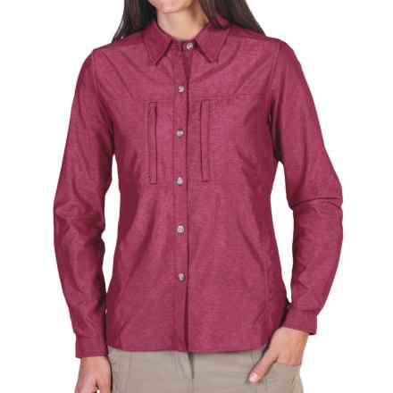 ExOfficio Dryflylite Shirt - Long Sleeve (For Women) in Mod - Closeouts