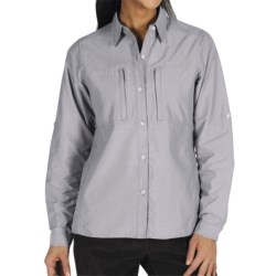 ExOfficio Dryflylite Shirt - Long Sleeve (For Women) in Glamour