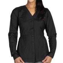 ExOfficio Ellora Shirt - Long Sleeve (For Women) in Black - Closeouts