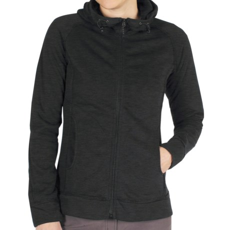 ExOfficio ExO Arrojo Hoodie - Dri-Release®, FreshGuard, Full Zip (For Women) in Black