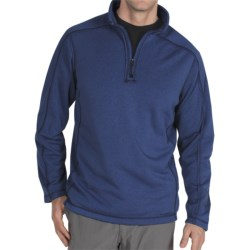 ExOfficio Exo Arrojo Pullover - Zip Neck, Long Sleeve (For Men) in Ensign