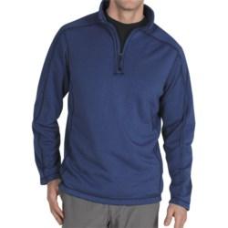 ExOfficio Exo Arrojo Shirt - Zip Neck, Long Sleeve (For Men) in Ensign