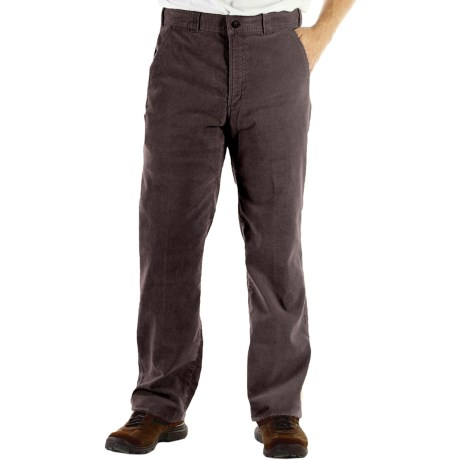 ExOfficio Flex Corduroy Pants (For Men) in Dark Charcoal