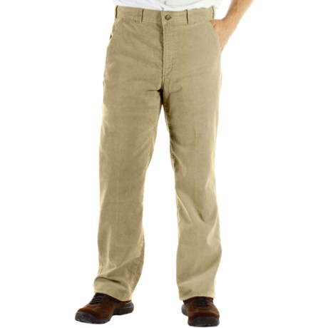 ExOfficio Flex Corduroy Pants (For Men) in Light Khaki