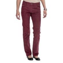 ExOfficio FlexCord Pants - Back Welt Pockets (For Women) in Cordovan - Closeouts