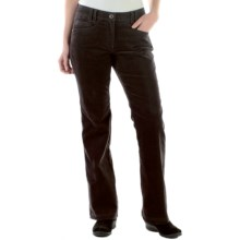 ExOfficio Flexcord Pants - Patch Pockets (For Women) in Dark Charcoal - Closeouts