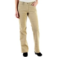 ExOfficio Flexcord Pants - Patch Pockets (For Women) in Light Khaki - Closeouts