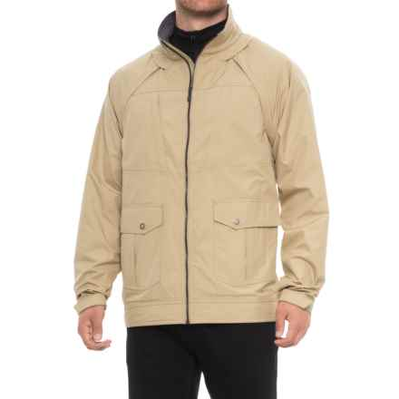 ExOfficio FlyQ Convertible Jacket - UPF 50 (For Men) in Light Khaki - Closeouts