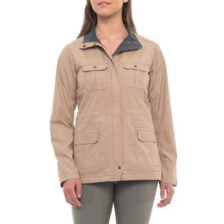 ExOfficio FlyQ Jacket - UPF 50 (For Women) in Tawny - Closeouts