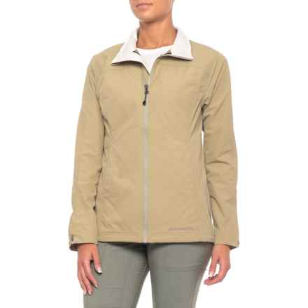 ExOfficio FlyQ Lite Jacket - UPF 50+ (For Women) in Light Khaki - Closeouts