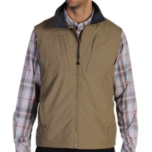 ExOfficio FlyQ Lite Vest - UPF 50+ (For Men) in Walnut - Closeouts