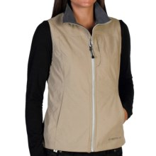 ExOfficio FlyQ Lite Vest - UPF 50+ (For Women) in Light Khaki - Closeouts