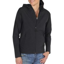 ExOfficio Gallivant Hooded Jacket - UPF 50+ (For Women) in Black - Closeouts