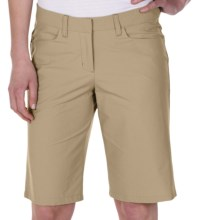 ExOfficio Gallivant Shorts - UPF 50+ (For Women) in Light Khaki - Closeouts