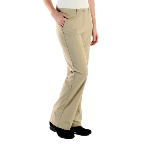 ExOfficio Gallivant Stretch Pants - UPF 50+ (For Women) in Light Khaki