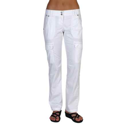ExOfficio Gazella Pants - UPF 30+ (For Women) in White - Closeouts